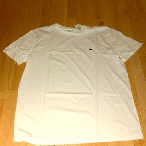 Brand New Men's Lacoste Cotton Tee